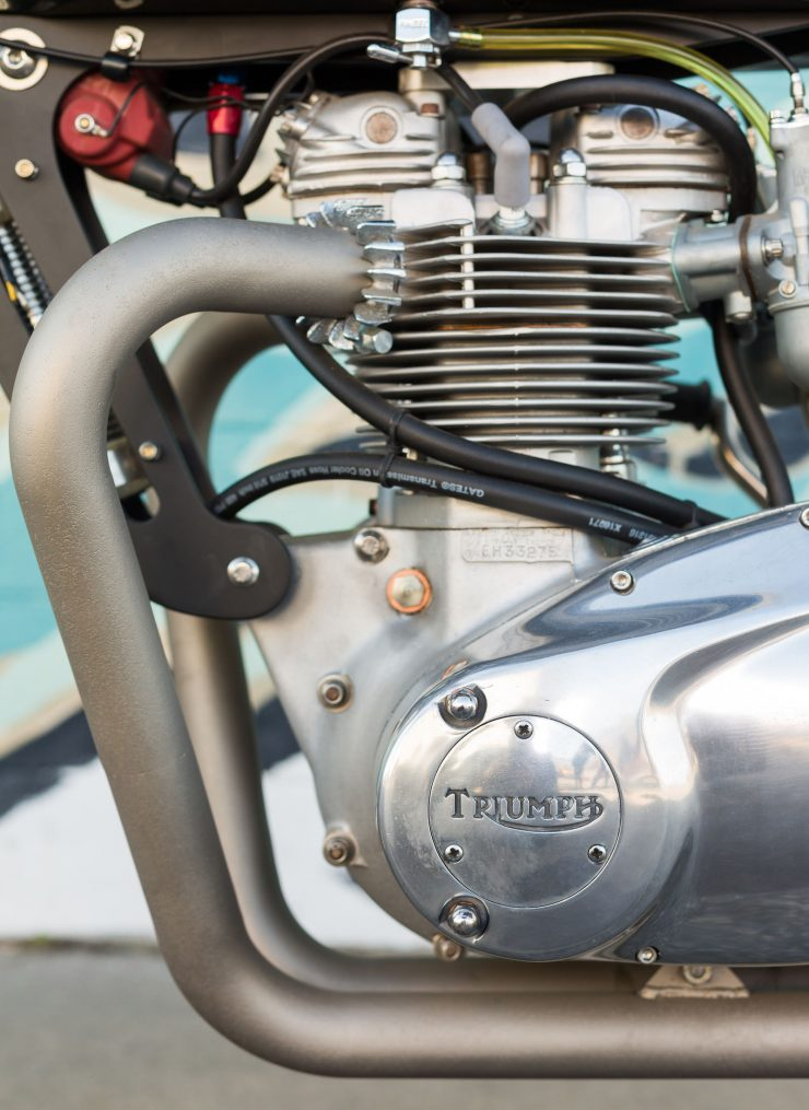 Custom Triumph Motorcycle 6