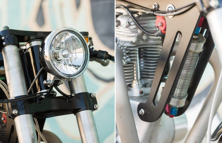 Custom Triumph Motorcycle Details 3