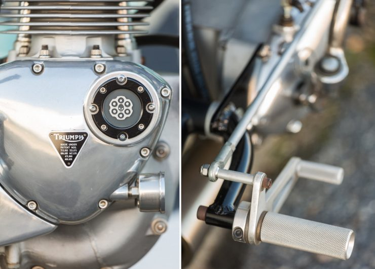 Custom Triumph Motorcycle Details 5
