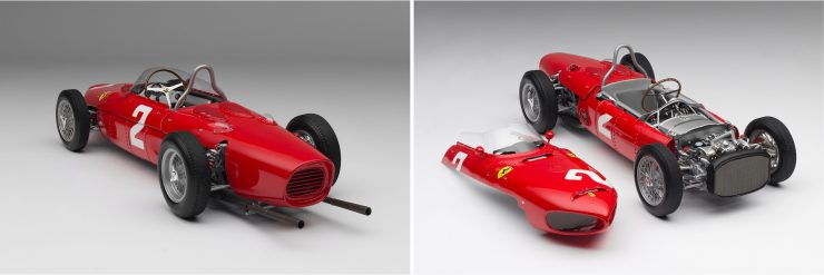 Ferrari 156 F1 Sharknose Collage