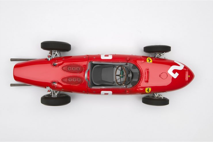 Ferrari 156 F1 Sharknose Overhead
