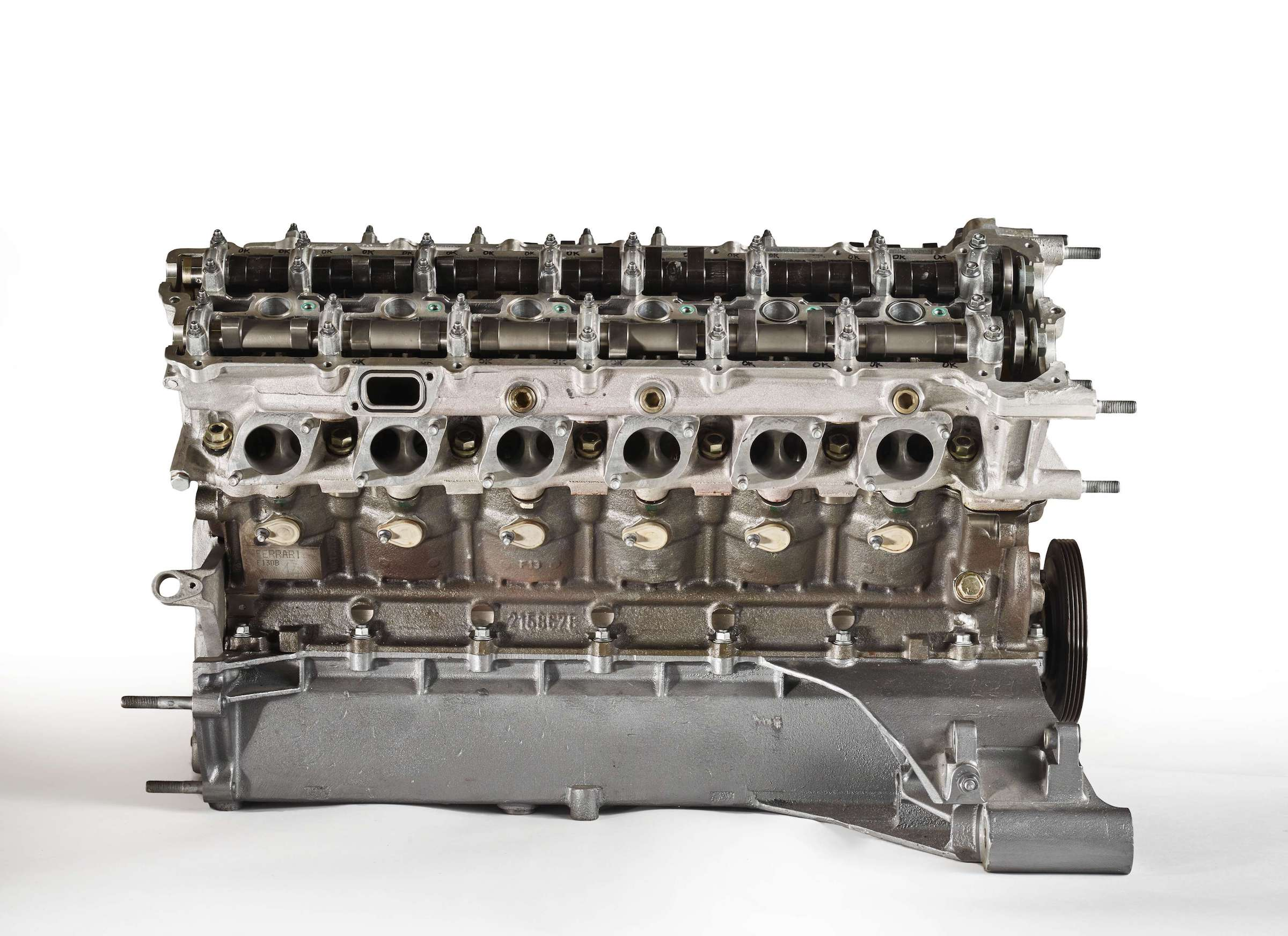 Ferrari F50 V12 Engine Side