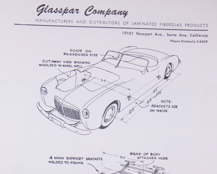 Glasspar G2 Car Body