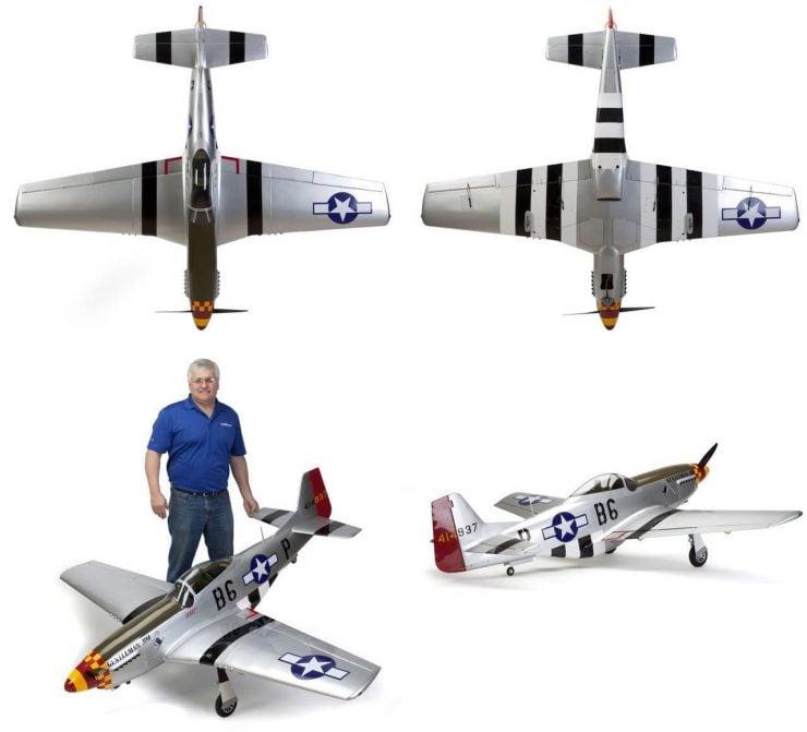 Hangar 9 P-51D Mustang 60cc ARF RC Plane 2