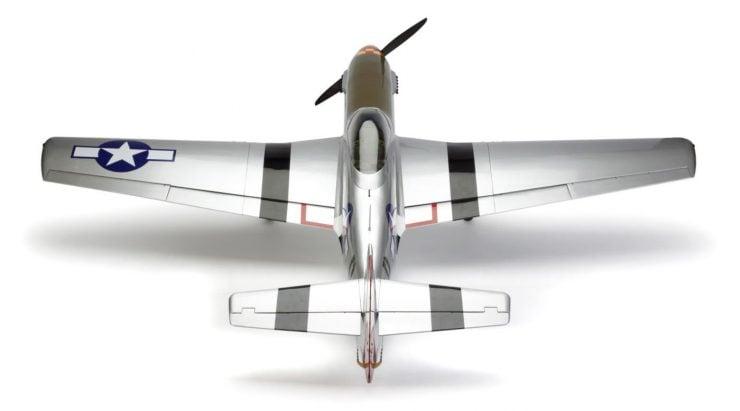 Hangar 9 P-51D Mustang 60cc ARF RC Plane Back