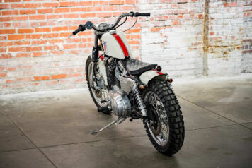 Harley-Davidson XL1200 Sportster Custom Back 6