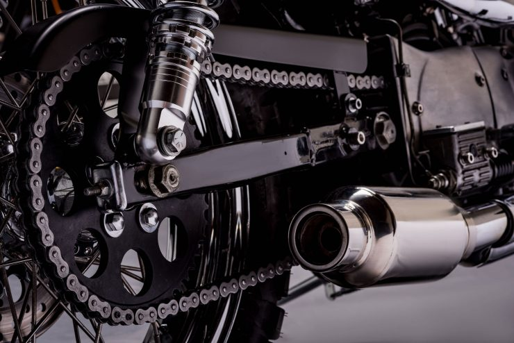 Harley-Davidson XL1200 Sportster Custom Chain Conversion