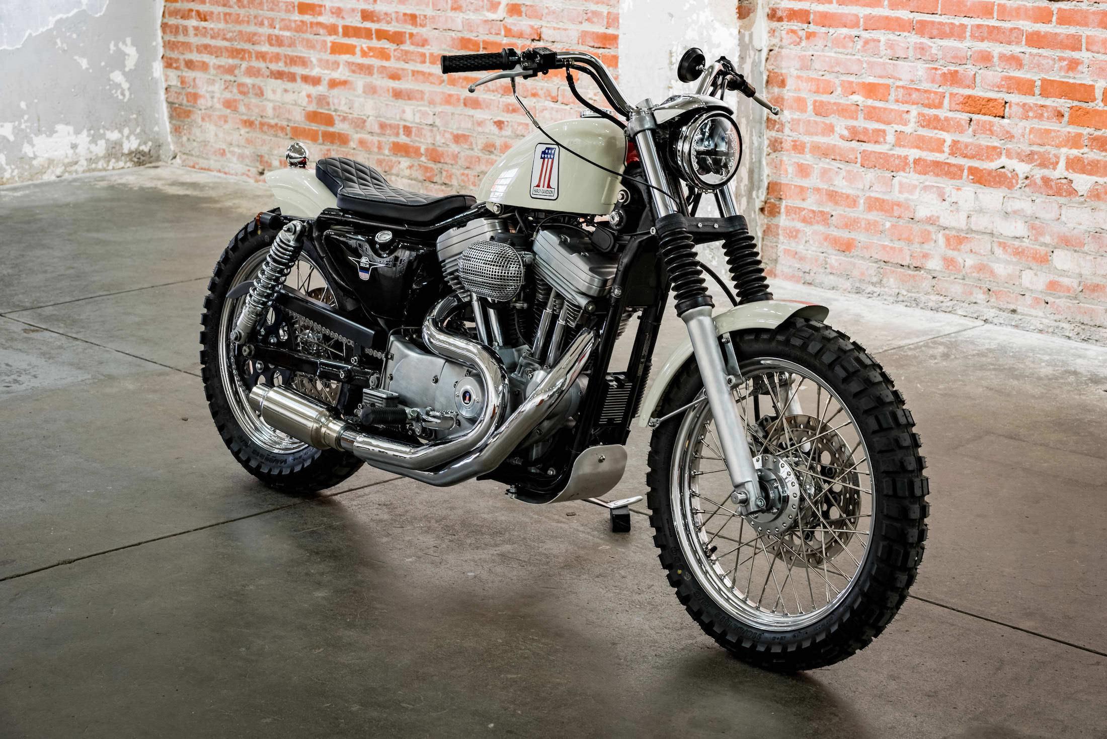Hageman Motorcycles Harley Davidson Xl1200 Sportster Custom