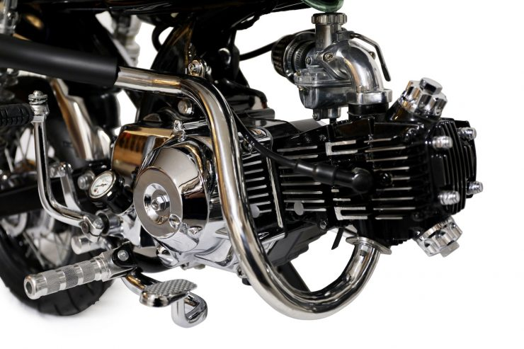 Honda Monkey Bike Cafe Racer Engine