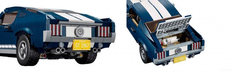 Lego Ford Mustang Back