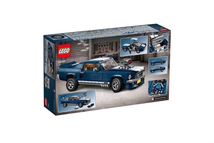 Lego Ford Mustang In Box Front