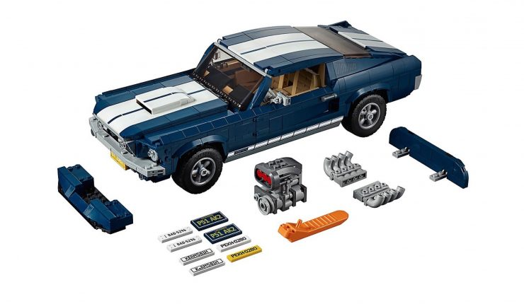 Lego Ford Mustang Parts