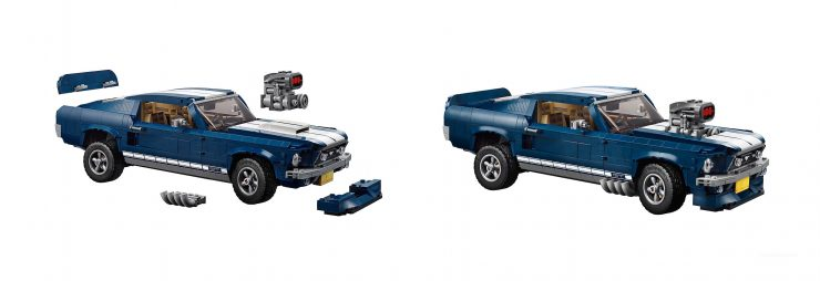 Lego Ford Mustang Supercharger