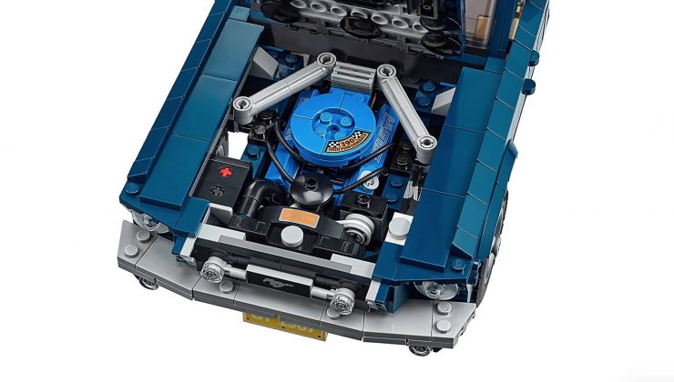 Lego Ford Mustang V8 Engine
