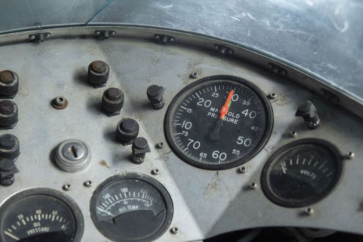 MV Agusta 750 Prototype Turbo Motorcycle Dashboard 2