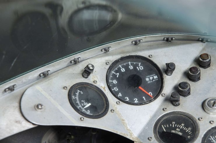 MV Agusta 750 Prototype Turbo Motorcycle Dashboard 3