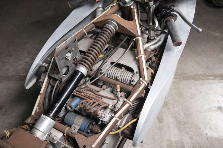 MV Agusta 750 Prototype Turbo Motorcycle Engine
