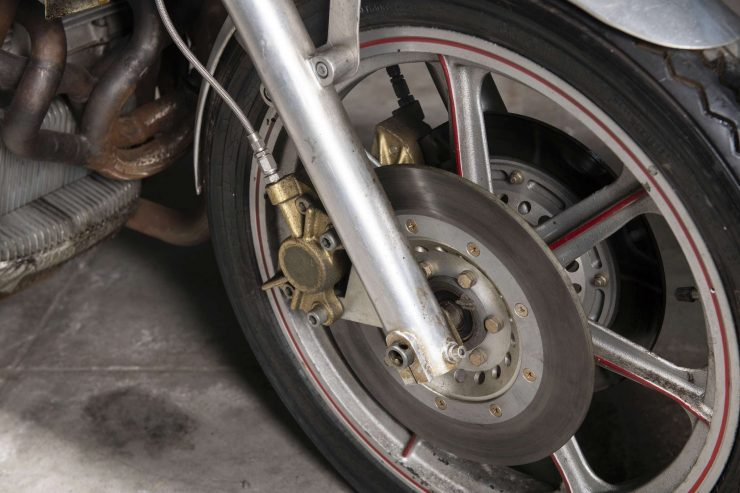 MV Agusta 750 Prototype Turbo Motorcycle Front Wheel