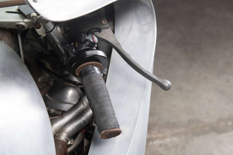 MV Agusta 750 Prototype Turbo Motorcycle Throttle