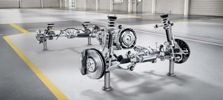Mercedes Benz G Wagon : G Class Drive Train