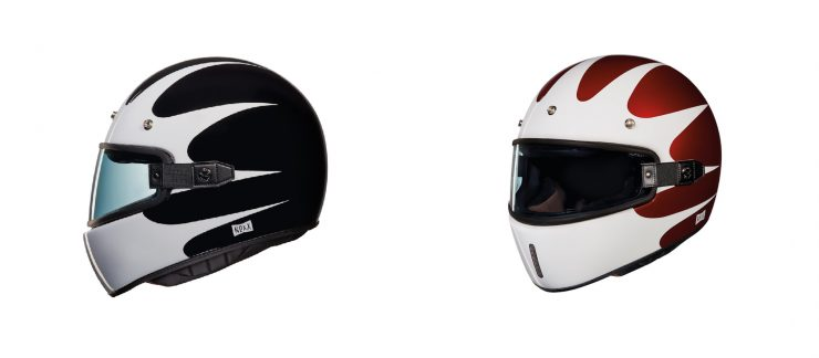 Nexx X.G100 Southsider Motorcycle Helmet Black and Red
