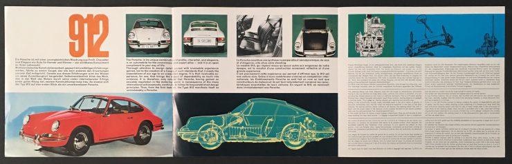 Porsche 912 Brochure 2
