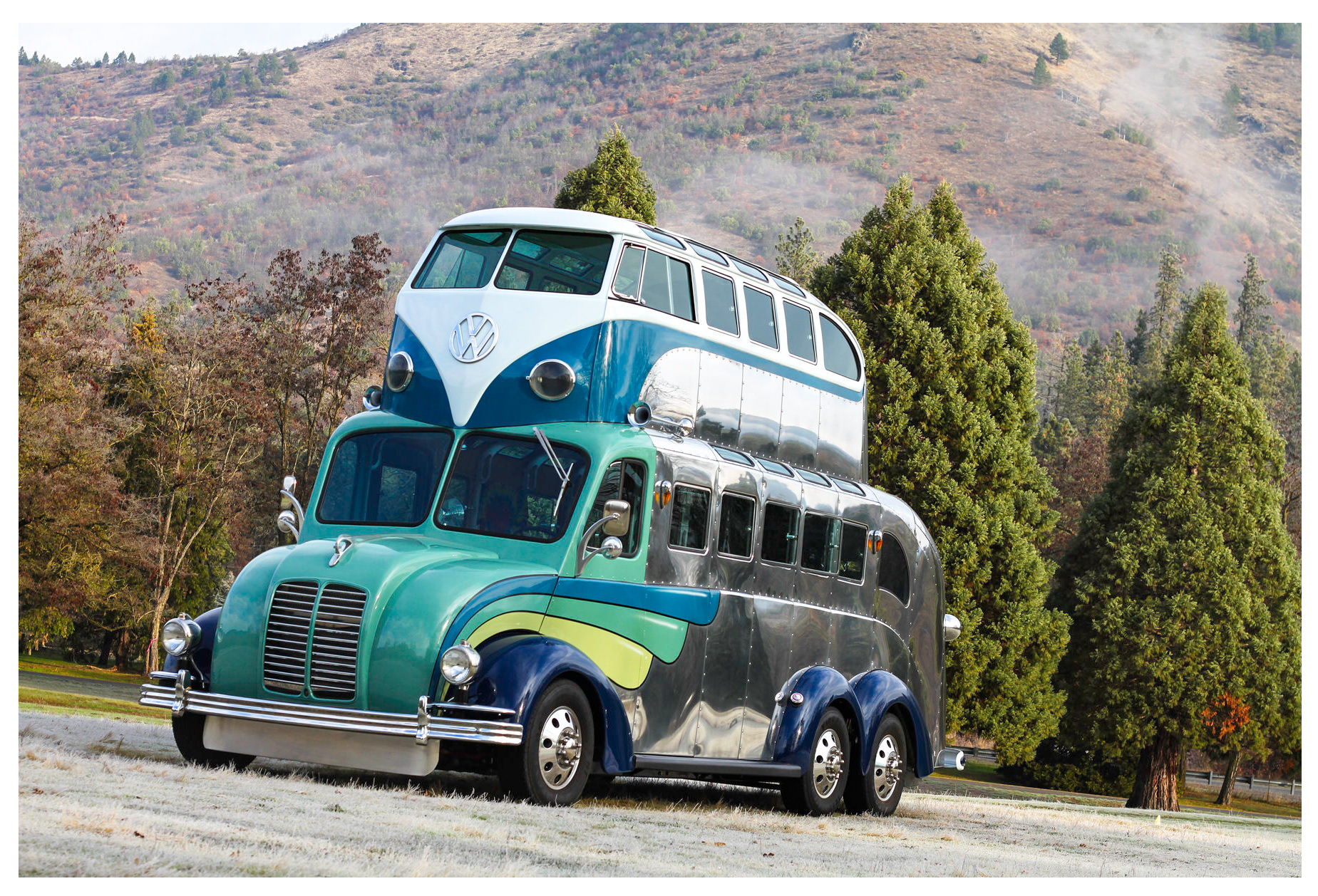 Randy Grubb Magic Bus on American Motorcycles