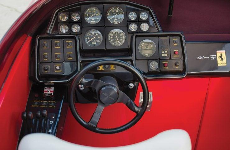Riva Ferrari 32 Cockpit
