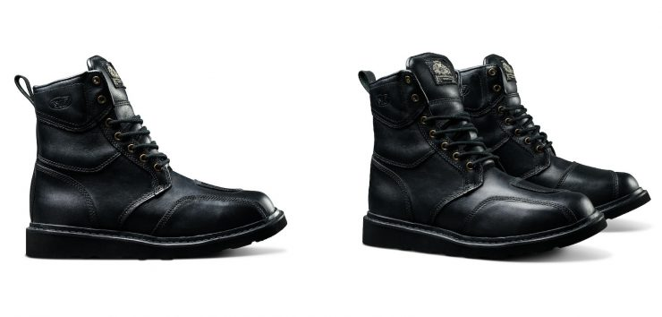 Roland Sands Mojave Boots Black