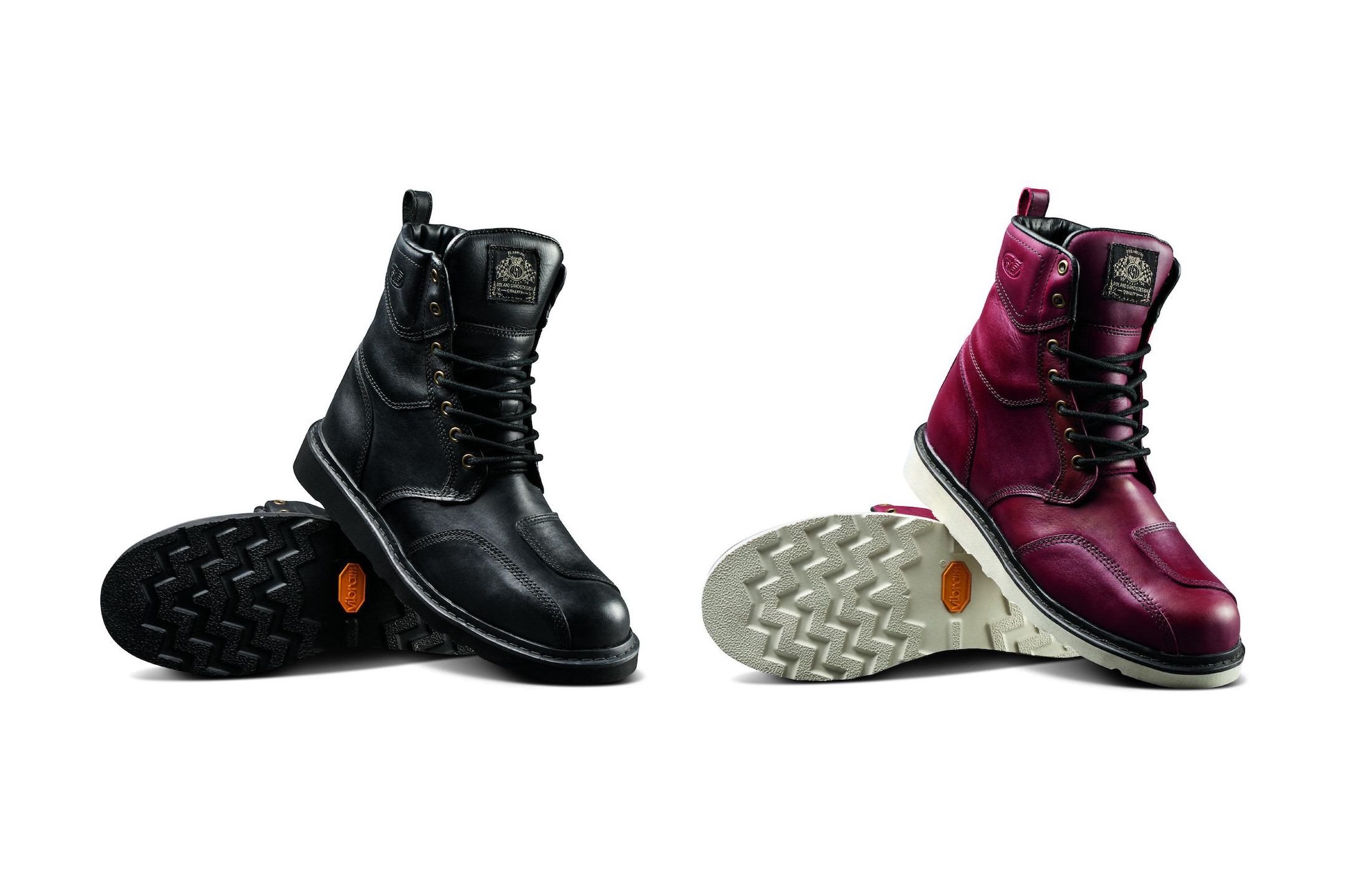 Roland Sands Mojave Boots Main
