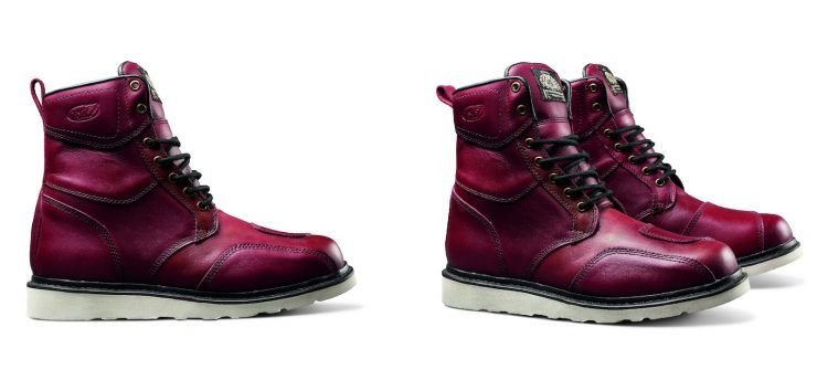 Roland Sands Mojave Boots Oxblood