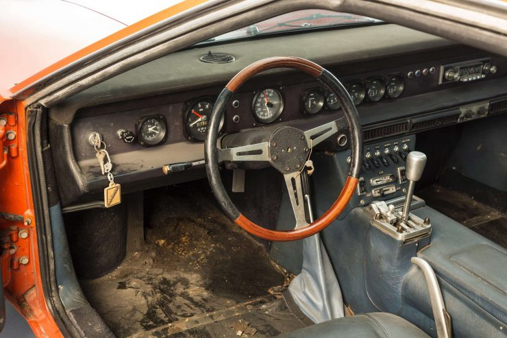 Serenissima Ghia GT Interior 1