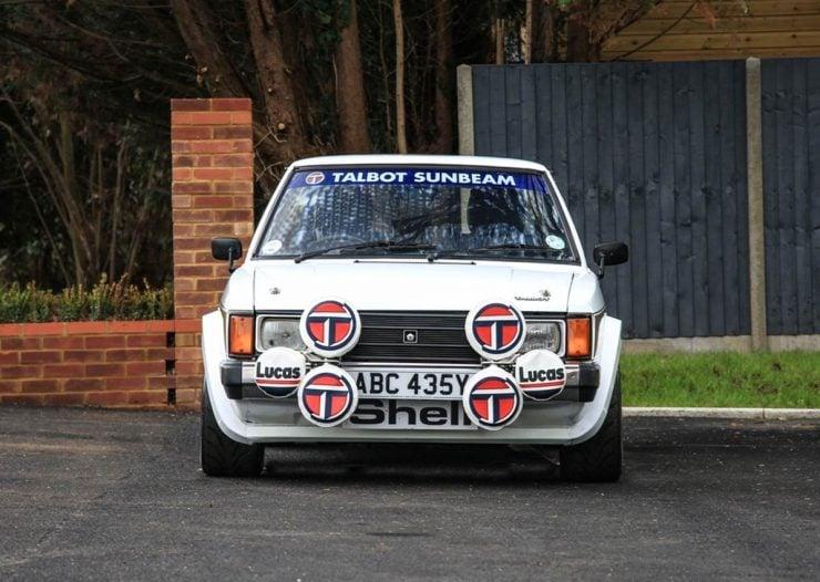 Talbot Sunbeam Lotus Front