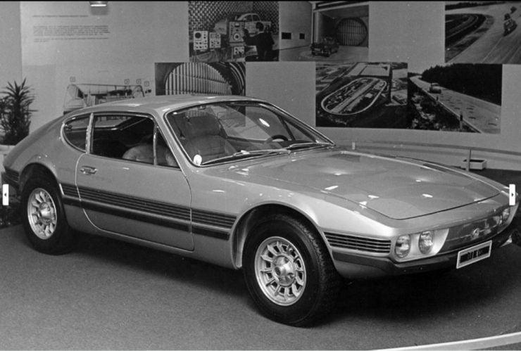 Volkswagen Brazil SP2 Concept car 1971