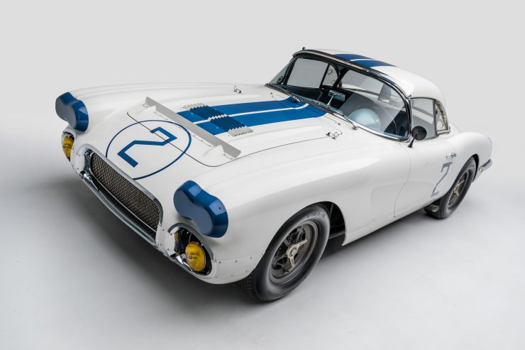 1960 Chevrolet Corvette Front Angle