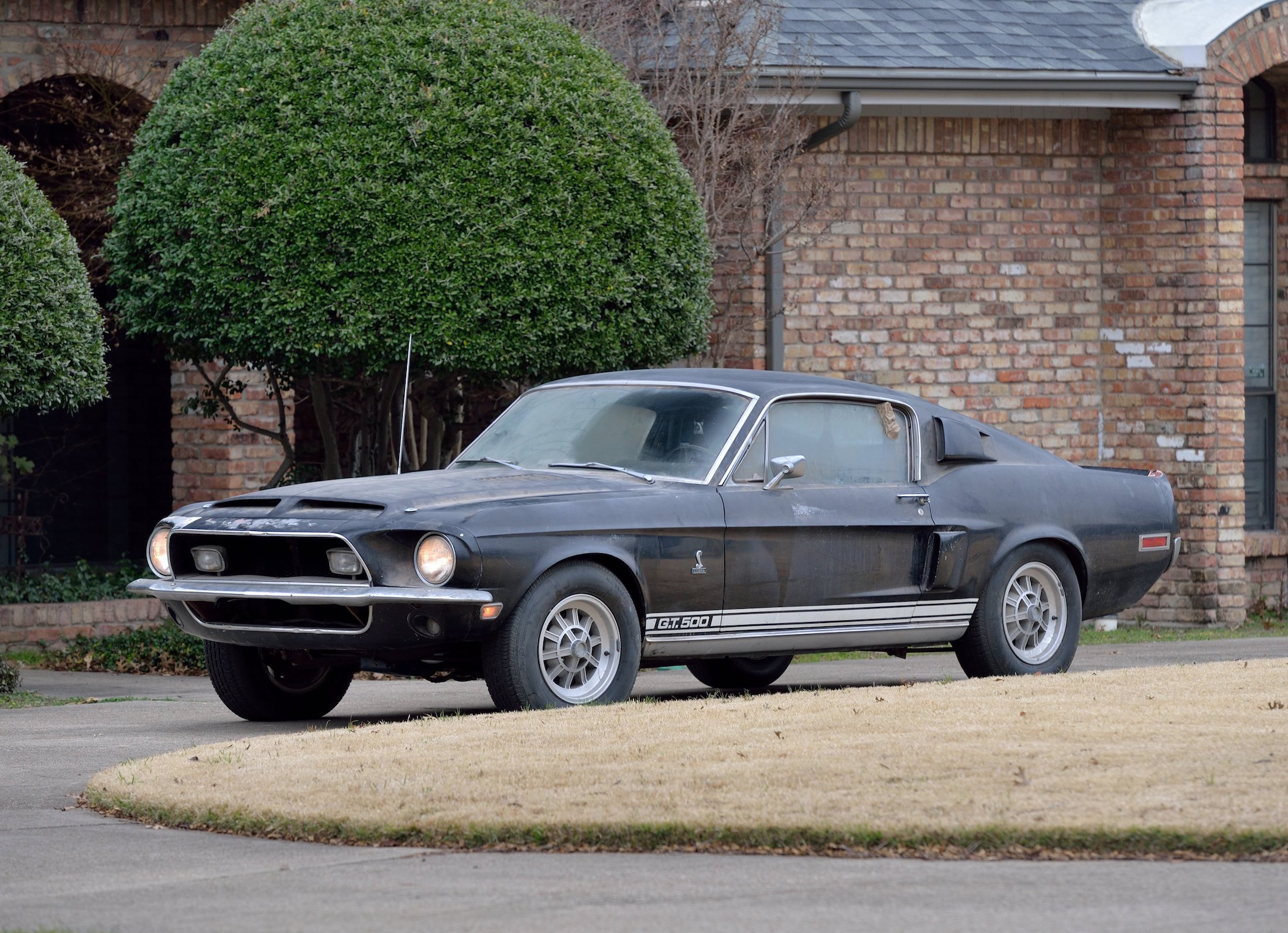 Barn Find: 1968 Shelby GT500 Fastback