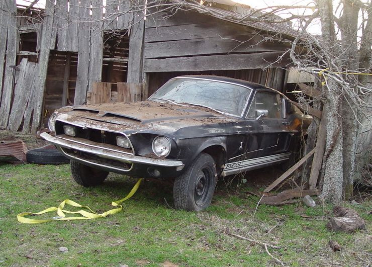 1968 Shelby GT500 Fastback Barn Find