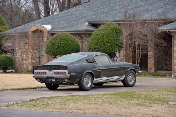 1968 Shelby GT500 Fastback Rear