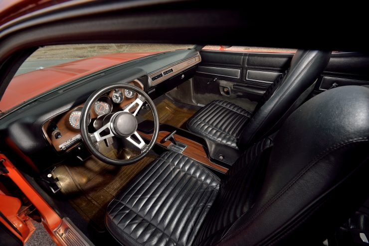 1971 Plymouth Road Runner Rapid Transit Car Interior 2