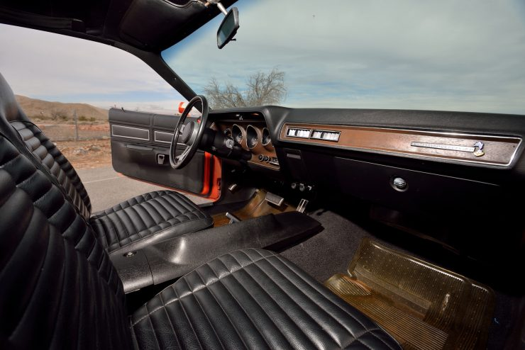1971 Plymouth Road Runner Rapid Transit Car Interior