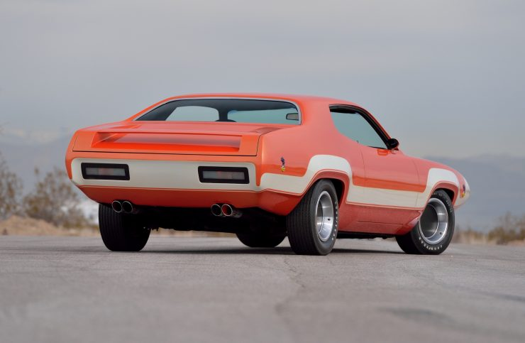 1971 Plymouth Road Runner Rapid Transit Car Rear