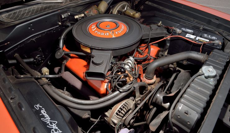 1971 Plymouth Road Runner Rapid Transit Car V8 Engine
