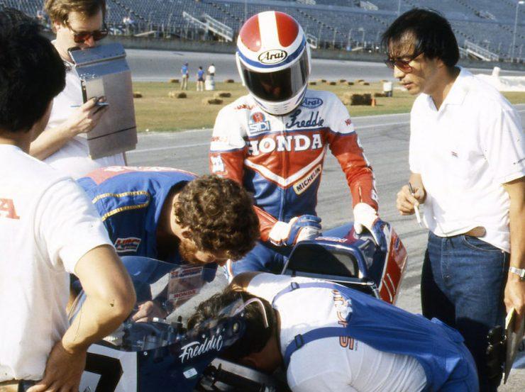1985 Daytona 200 Freddie Spencer