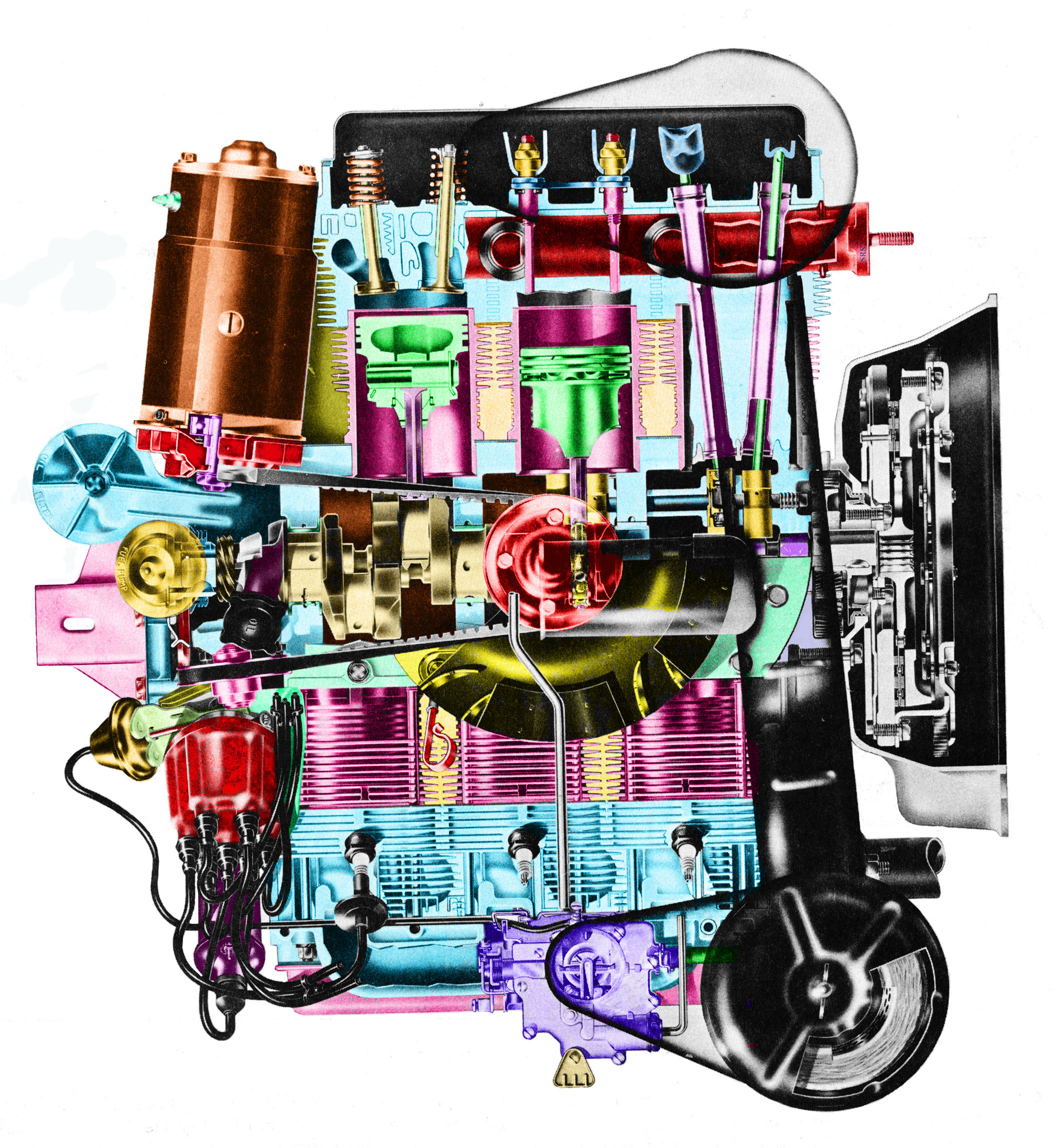 A Brief History of the Chevrolet Corvair - Everything You Need To Know | 1965 Corvair Engine Diagram |  | Silodrome