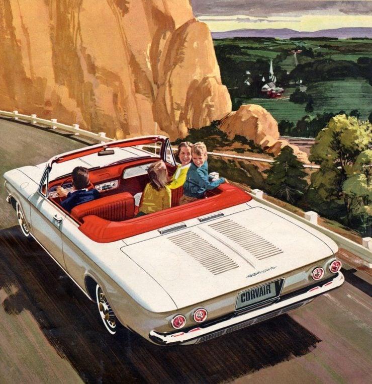 Chevrolet Corvette advertisement