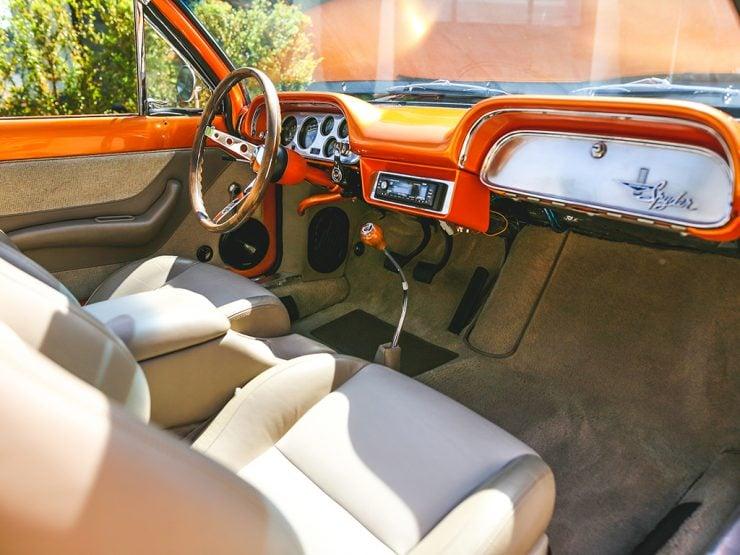 Chevrolet Corvair Monza Spyder interior
