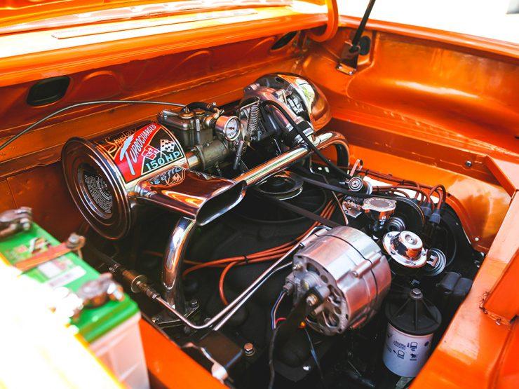 Chevrolet Corvair Monza Spyder engine