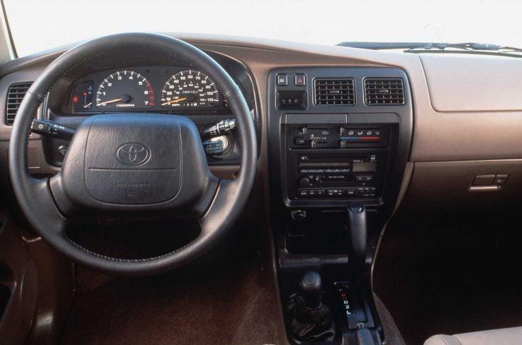 Toyota Hilux 4runner interior