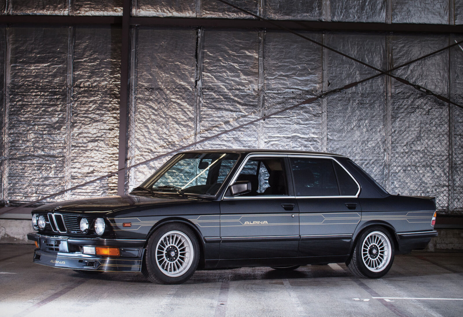 1986 BMW Alpina B7 Turbo / 1 - The Fastest Four Door Car In The World in 1986