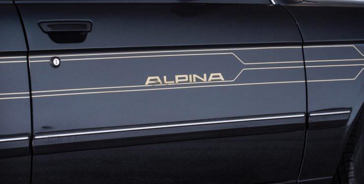 BMW Alpina B7 Turbo Logo